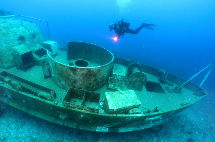 advanced open water diving course in Bodrum with Aquapro