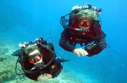 PADI Discover Rebreather Diving program